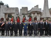 Ponta şi Antonescu, la Carei de Ziua Armatei