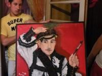 Autoportretul omului de iarbă