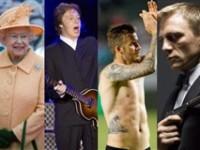Ceremonia de deschidere Londra 2012: Regina Elisabeta, Paul McCartney, David Beckham şi actorul din James Bond, printre celebrităţile prezente la eveniment