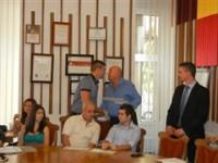 Sportivii de la C.S. Satu Mare și C.S. Unio, premiați de conducerea Primăriei