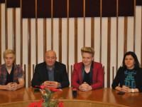 Primarul Dorel Coica i-a felicitat pe Tudor Toduţ şi Suranyi Botond