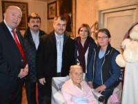 Felicitată de conducerea Primăriei Satu Mare, la 108 ani!