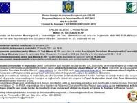 Gal Zona Sătmarului – Apel de selecţie a proiectelor pe măsura 41.121