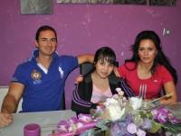 Laura, Hanny si Adrian Bota