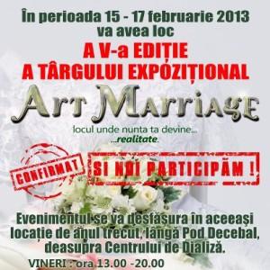 art marriage, satu mare, targ de nunti, 2013