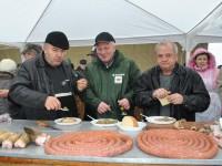 Concurs de tăiat porci la Carei (FOTO)