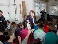 Campanie de prevenire a delincvenței juvenile, la Școala Octavian Goga