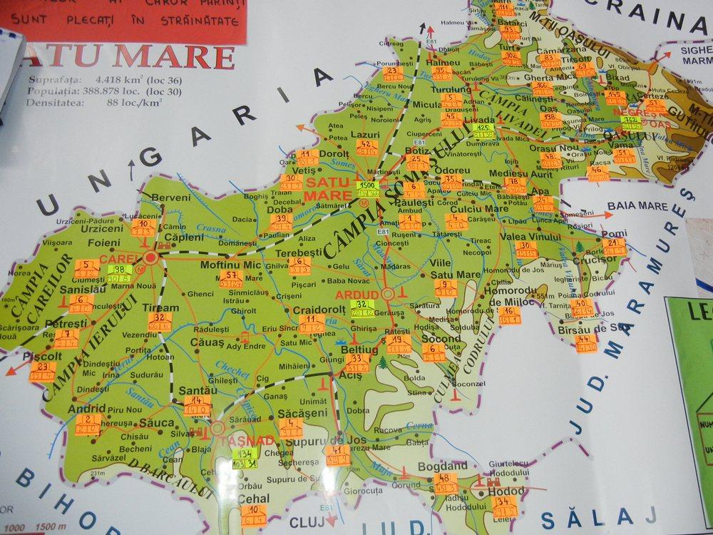 harta copii cu parinti in strainatate