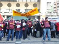 Poștașii au pichetat Prefectura Satu Mare