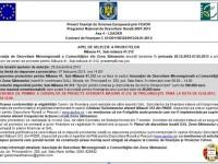 Gal Zona Sătmarului – Prelungirea apelului de selecţie a proiectelor pe măsura 41.312
