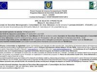 Gal Zona Sătmarului – Apel de selecţie a proiectelor pe măsura 41.123