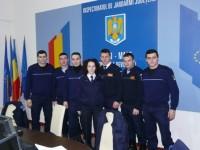 Şapte studenţi ai Academiei Alexandru Ioan Cuza, în practică la Jandarmeria Satu Mare