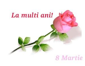 8 martie felicitare