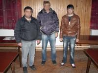 Trei turci reținuți în apropierea frontierei cu Ungaria