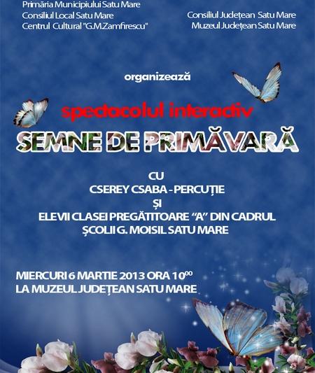 concert Semne de primavara
