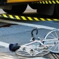 biciclist accidentat,