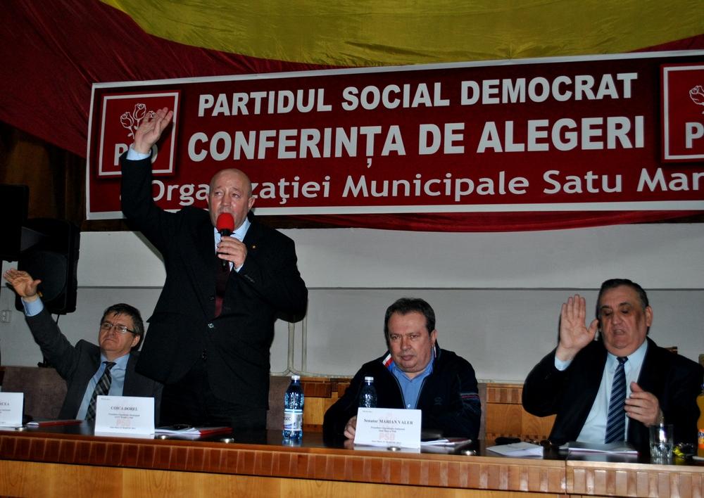 conferinta municipala PSD Satu Mare 2013, Dorel Coica, presedinte