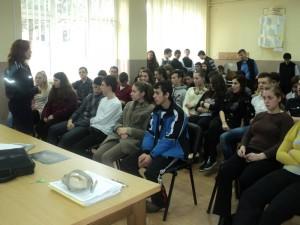 Săptămâna fără violenţă în şcoli - acţiuni  de prevenire la Liceul Ortodox