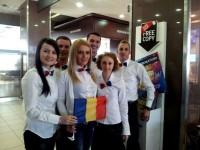 Tineret in actiune, echipa Romania