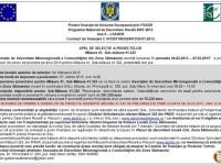 Gal Zona Sătmarului – Prelungirea apelului de selecţie pentru măsura 41.322
