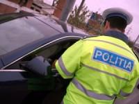 Prins conducând fără permis şi cu numere false de înmatriculare