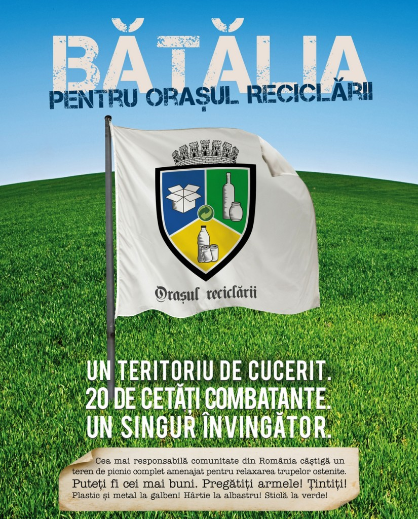 """Orasul Reciclarii 825x1024 Satu Mare a câștigat premiul de excelență în """"bătălia"""" pentru """"Orașul Reciclării"""""""