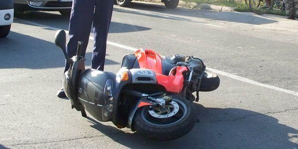 accident mopedist