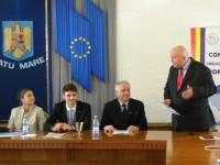 Alex Gavrău, preşedinte al Consiliului Elevilor din Nord-Vest