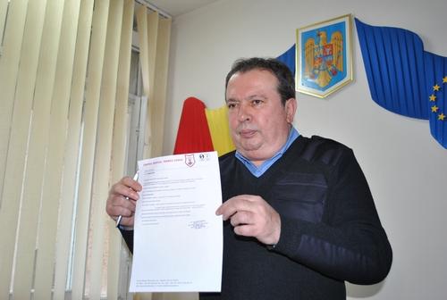 Valer Marian, certificat medical