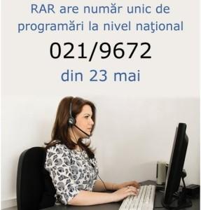 RAR, telefon unic