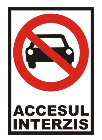 accesul interzis, P-ta Libertatii, Satu Mare
