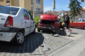 Accident Aurel Vlaicu Satu Mare