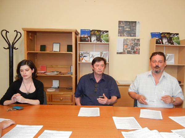 Festivalul de Teatru Fara Bariere, Andrei Mihalache, Besseny Istvan, Monica Caita