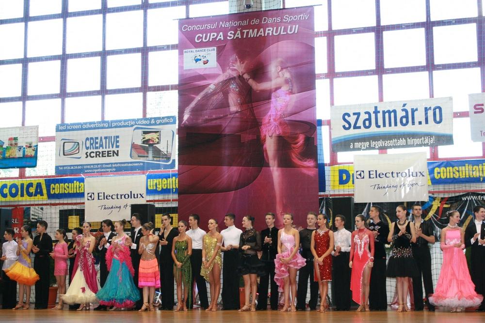 Cupa Satmarului, dans sportiv, Satu Mare