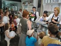 deschidere gelaterie Bianco Milano Satu Mare, trupa Zurli
