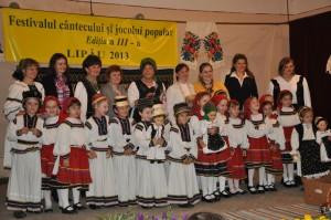 festival interjudetean al cantecului, Lipau