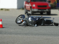 motociclist accidentat