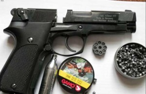 pistol aer comprimat