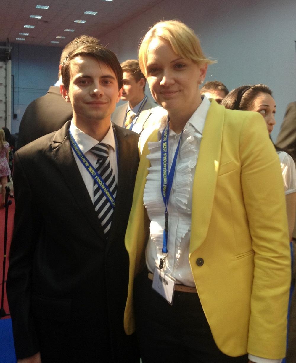 presedinte CSL- Claudia Benchescu+ Robert Laszlo