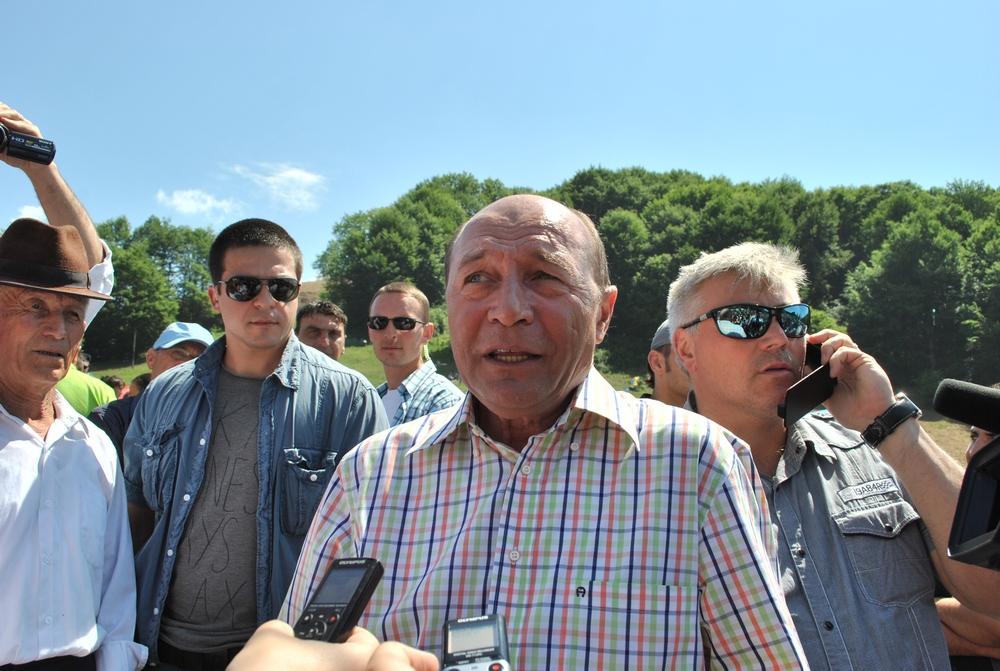 Traian Basescu, Sambra Oilor 2013