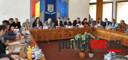 sedinta Consiliul Judetean Satu Mare