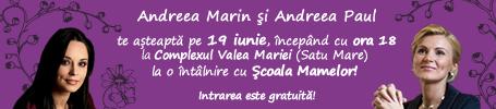 andreea marin, andreea paul, Satu Mare, Valea Mariei, Scoala Mamelor