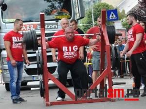 Alexandru Cortean, concurs strongest man