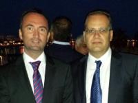 Cosmin Ratiu cu Emanuel Bratu profesor UMF Victor Babeș Timișoara