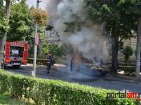 incendiu masina Vasile Lucaciu (4)
