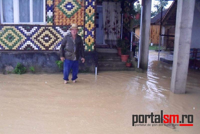 Inundaţii Călineşti Oaş