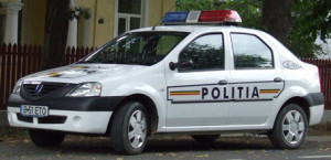 masina politie logan