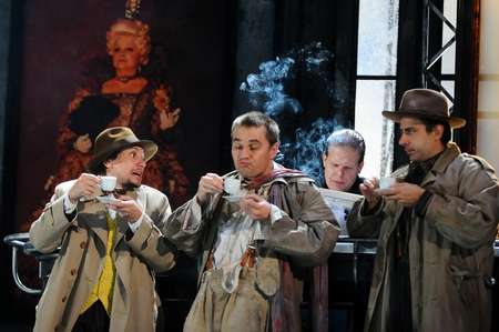 Teatrul Csokonai Debrecen  SCAPIN, A SZEMFÉNYVESZTŐ (Scapin vicleanul) de Molière