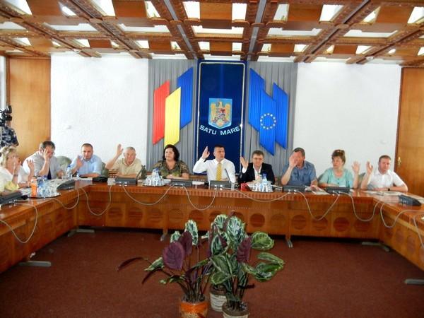 sedinta Consiliul Judetean Satu Mare (8)