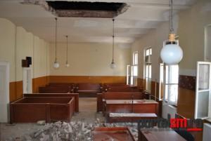 tavan cazut tribunalul satu mare (13)